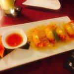 Shrimp Thai style