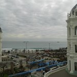 Une vue privilégiée sur la plage du Sardinero