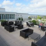 Rooftop loung area