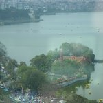 West Lake from executive lounge