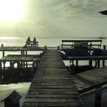 great pier belonging to the property