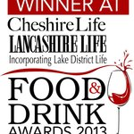 Proud winner at Cheshire Life Awards 2013