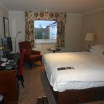 Refurbished double room at Highlands Hotel