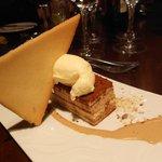 Tiramisu dessert at Aspects Restaurant