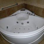 Jacuzzi tub in master bathroom