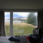 roomand view.Note mis position of the bed/view...