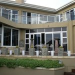 Main Patio by Pool Area KH West Beach Cape Town