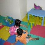Kiddie playroom