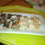 Octopus and conch ceviche