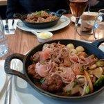 ragoût de pattes de porc et boulettes