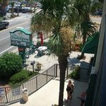 View of Ocean Boulevard from the room. (The Strip)