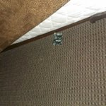 Condom paper on the floor