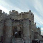 Entrada al castillo.