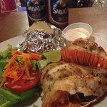 Fresh yummy Lobsters