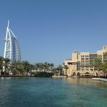 One of the other Madinet hotels with the nearby Burj Al Arab