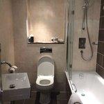 Bathroom in room 112