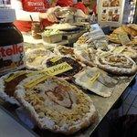 Hungarian Flatbread Desserts at Central Market Halls