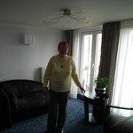 Ruimte in overvloed in de suite