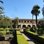 Le jardin de la mission Inès