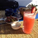 Daïquiri fraises, un délice