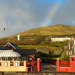 Rainbows end at The Boatyard Restaurant