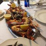 Grillade de fruits de mer