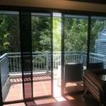 Balcony with a jungle view