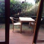 Il nostro terrazzo/giardinetto