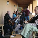Local musicians jam session