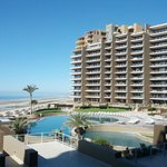 View from A206... overlooking the great pools and ocean in front of Las Palomas