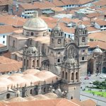 The cathedral in Cusco-City