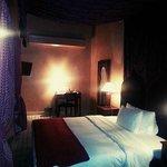 La camera in cui ho dormito