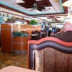 Vernon Diner interior shot toward counter