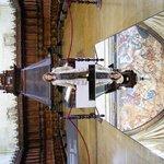 el coro, el facistol y el gran fresco