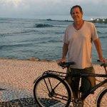 Bike oferecida pela pousada