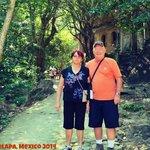 My parents in Yelapa