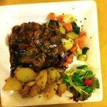 Carne con verdure