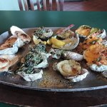 Oyster sampler - lovely!