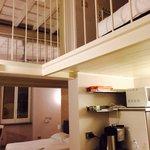 Cucina e camera da letto
