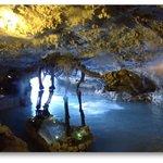 Zipline Landing in Cave