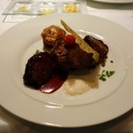 Main Veal & slow cooked beef