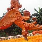El dragon de la fuente