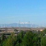 vista a la montaña desde la habitacion 211 22-2-2014