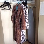 loved the fun wild print bath robes