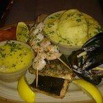 Brambles Seafood Platter - amazing!