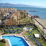 Tryp Guadalmar: sea & pool view