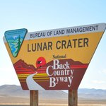 Lunar Crater Sign