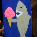 Even sharks like ice cream