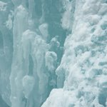 One of the ice falls, closeup