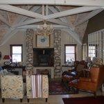 Lounge-Bereich im Obergeschoss